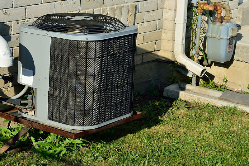 How do I winterize my central air conditioner?